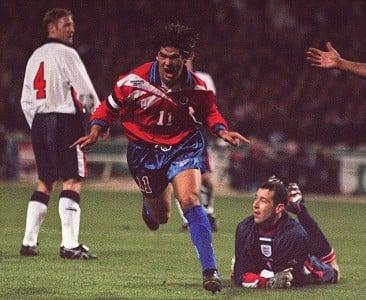 Marcelo Salas Wembley