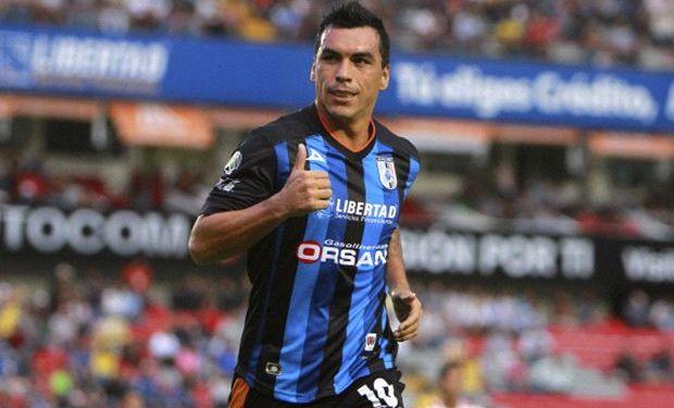 Esteban Paredes marcó tripleta en triunfo del Querétaro ante el Zacatepec