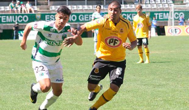 San Luis goleó a Temuco y sigue a la caza del líder