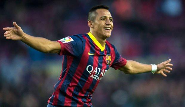 Alexis Sánchez volvió a brillar en goleada del Barcelona en España