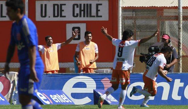 U. de Chile rescató un empate en el Salvador