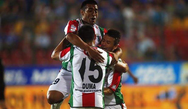 Palestino goleó a Wanderers y va a la Copa Libertadores