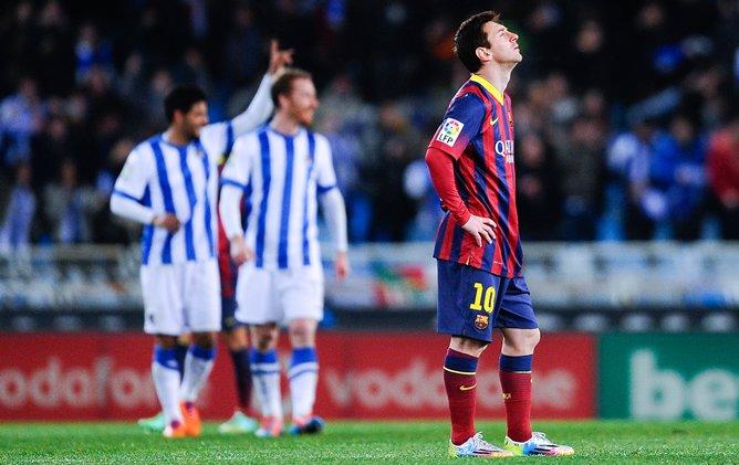 Messi-lamenta