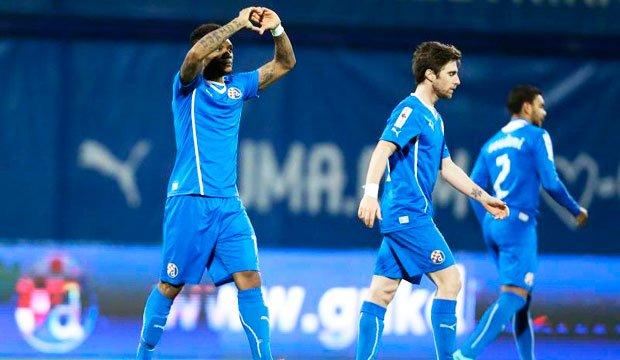Junior Fernandes macó en triunfo de Dinamo Zagreb