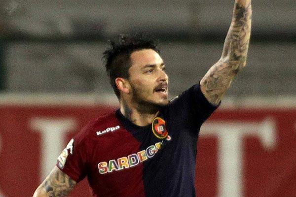 Mauricio Pinilla marcó en empate de Cagliari