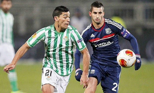 Lorenzo Reyes anotó en la derrota del Betis ante el Málaga