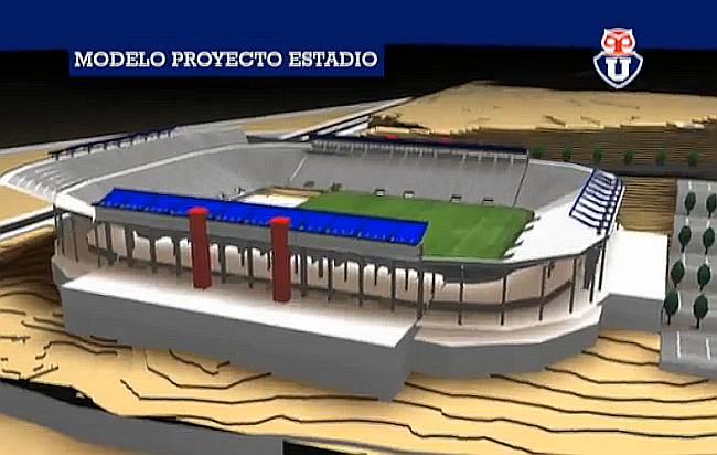Universidad de Chile tiene terreno para su anhelado estadio