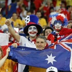 Chilenos y Australianos
