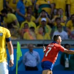 Gol de Alexis