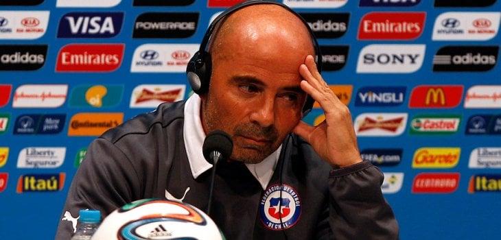 Selección  de Chile: El trauma de Sampaoli