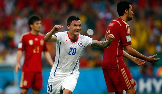 Chile abdicó al campeón España y dio otro Maracanazo
