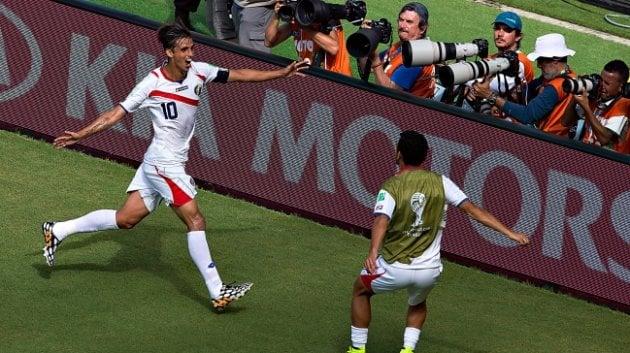 Costa Rica venció a Italia en Recife