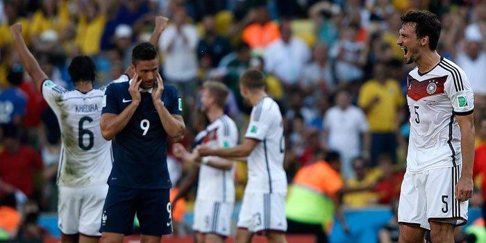 Alemania es el primer semifinalista del Mundial