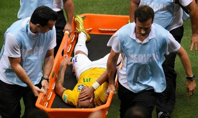 lesion neymar