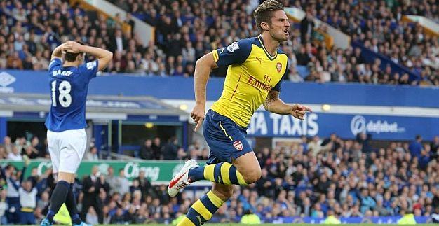 Alexis jugó apenas un tiempo y Arsenal no convence tras empate frente a Everton