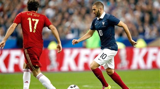 Francia lució su efectividad ante España