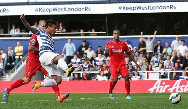 QPR  de Eduardo Vargas logró dar vuelta el partido ante West Bromwich