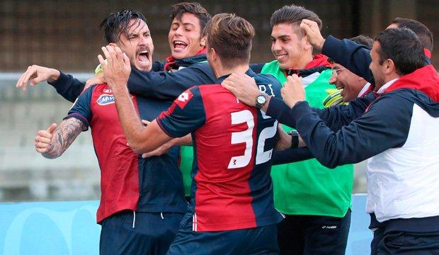 Mauricio Pinilla erró un penal y anotó en triunfo del Genoa