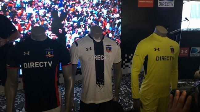 Colo Colo presentó oficialmente su nueva camiseta para el 2015