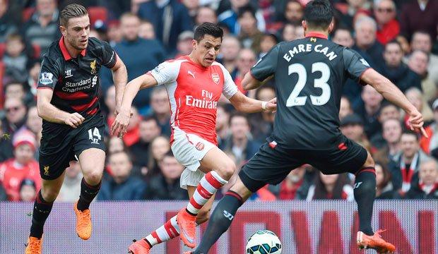 Alexis marcó en victoria de Arsenal sobre Liverpool en la Premier