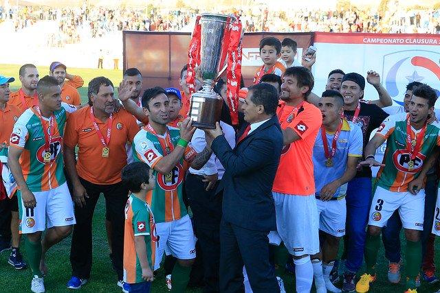 Cobresal gritó campeón por primera vez en El Salvador