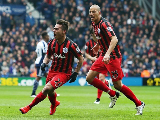 Eduardo Vargas marcó en goleada de QPR frente a West Bromwich Albion