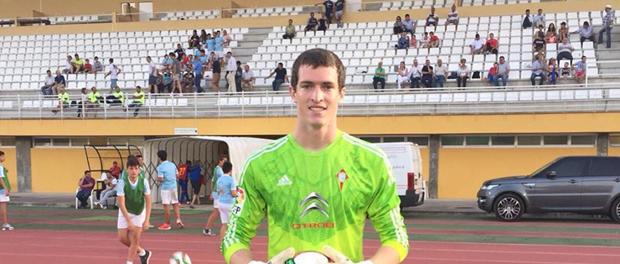 Felipe Ochagavia debuta en amistoso del Celta B en España