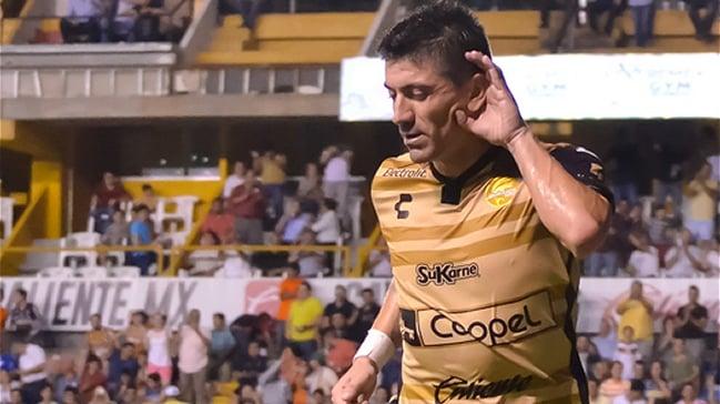 Héctor Mancilla anoto en la caída del Dorados en la Copa México