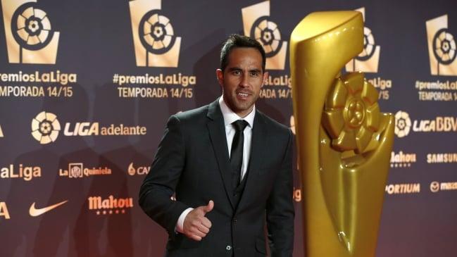 Bravo fue el mejor portero de la Liga 2014-2015