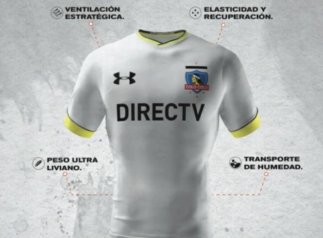 Colo Colo oficializa el comienzo de la venta de su nueva camiseta ... 41efd4cad161c