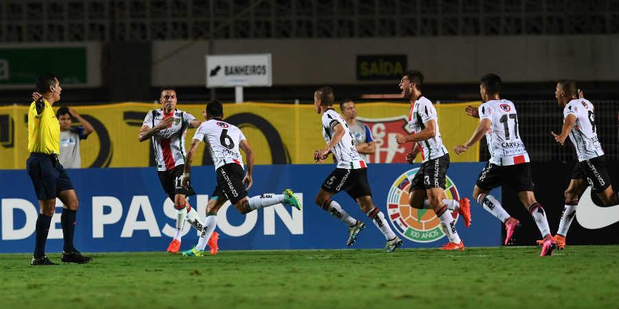 Y David venció a Goliat: Palestino gana en Brasil y avanza en la Sudamericana