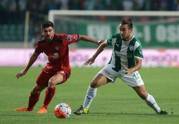Video: Cristóbal Jorquera anotó el único gol en victoria del Bursaspor