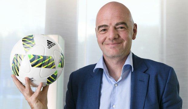 Presidente de la FIFA quiere un Mundial con 48 equipos