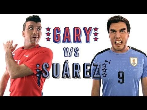"""Kramer """"Calienta"""" el Chile vs Uruguay"""