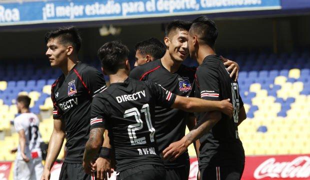 Colo Colo derrotó a Palestino en el cierre del Torneo de Apertura