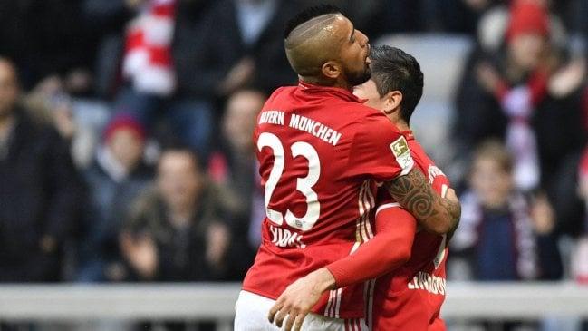 FC Bayern recuperó el liderato con goleada ante Wolfsburgo