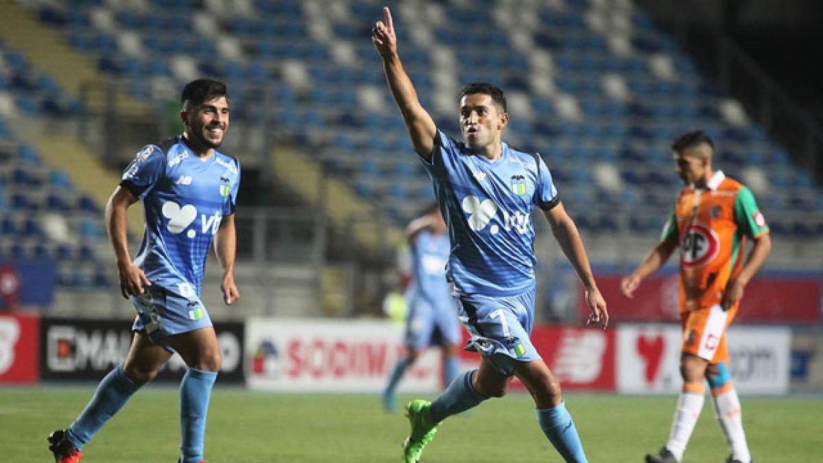 O'Higgins goleó a Cobresal en la previa de su participación por Copa Sudamericana
