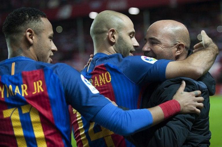 """Jorge Sampaoli y los rumores que lo vinculan al Barcelona: """"Nunca se sabe"""""""