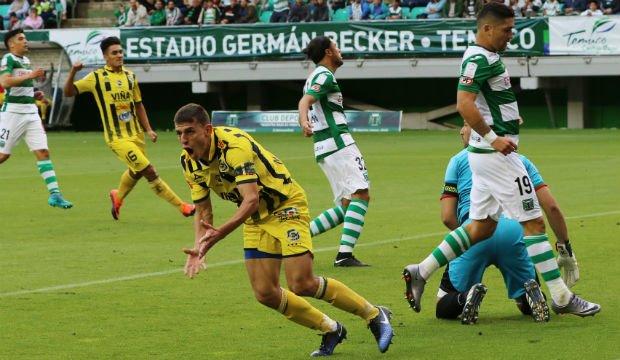 Everton venció a domicilio a Deportes Temuco
