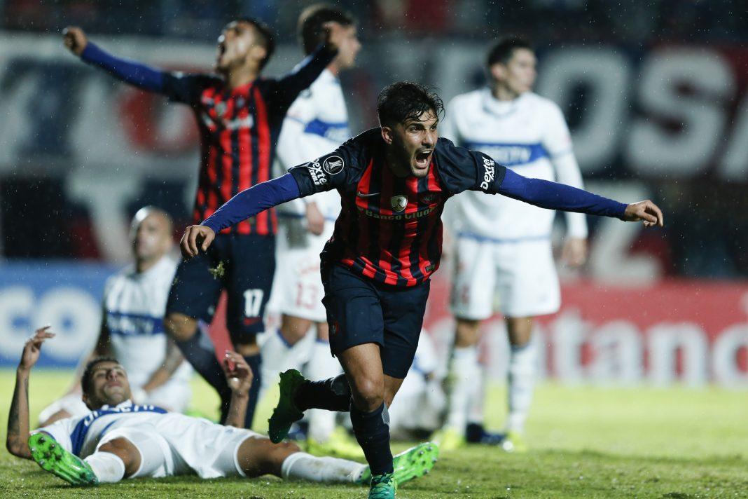 San Lorenzo derrotó a U. Católica y revive en la Copa Libertadores