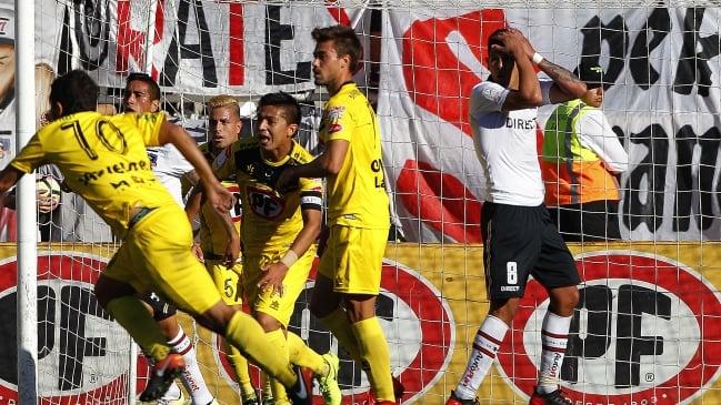 Colo Colo perdió con San Luis y comparte liderato con la U