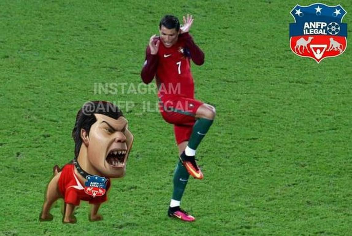 Los memes que dejo el triunfo de Chile sobre Portugal
