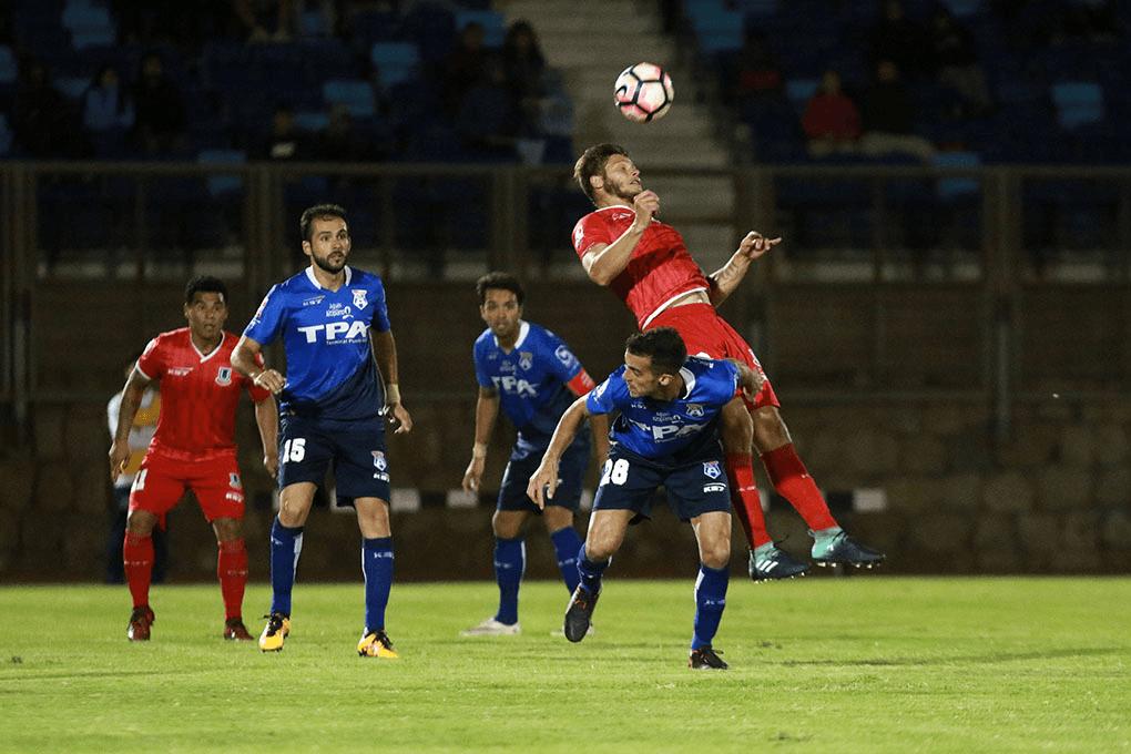 Unión La Calera vence a San Marcos de Arica y se salva del descenso
