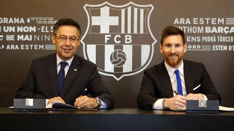 Se filtran los detalles del contrato de Leonel Messi