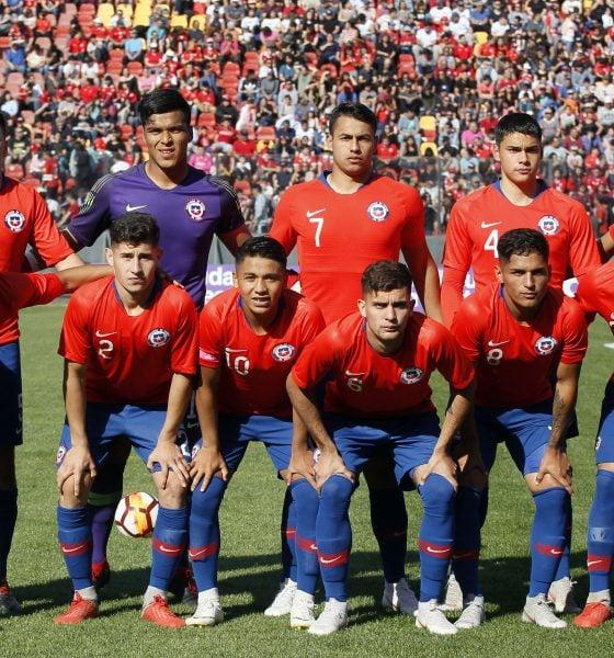 Equipo Sub 20 de Chille 2018